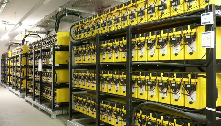 BACS installed on VRLA batteries