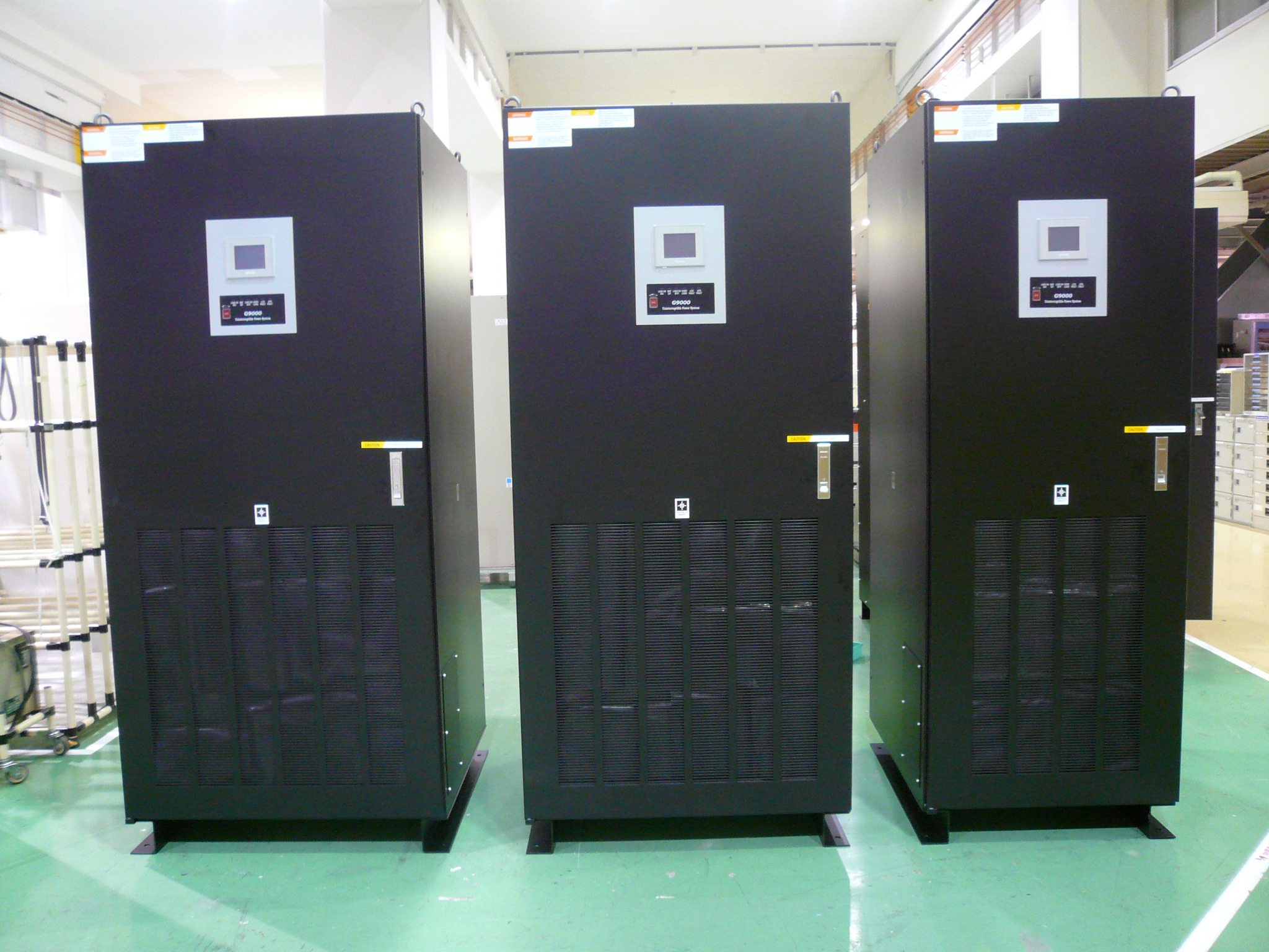 Toshiba Uninterruptible Power Supplies G9000 Series: 225kVA, 160kVA, 100kVA units